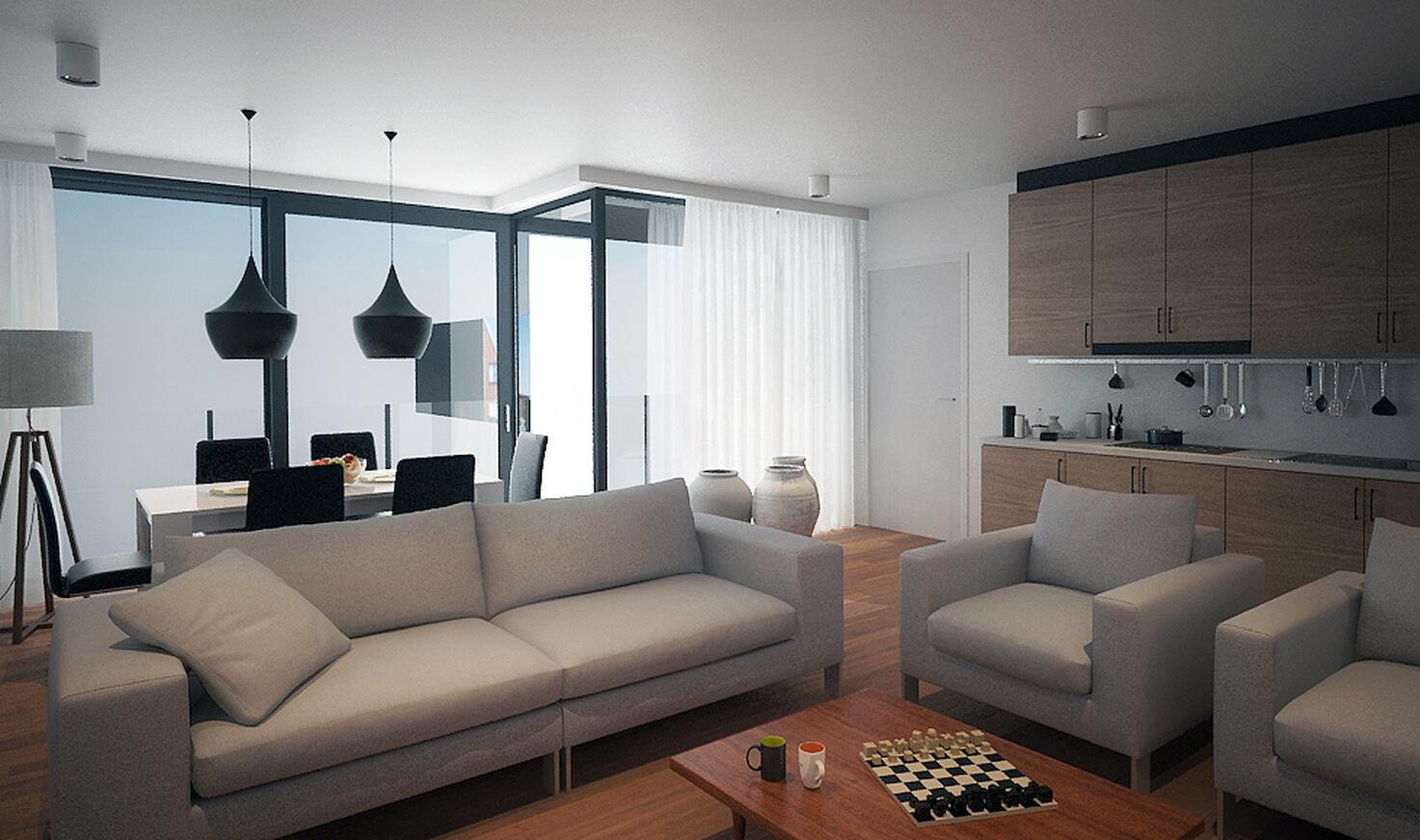 Realisatie Residentie Den Aster Aartrijke door Edima